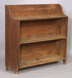 Pine and Poplar Bucket Bench, New England, 18th century...in love with this