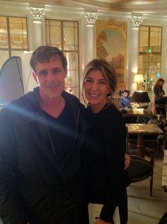 Dr. David Colbert & Nina Garcia.