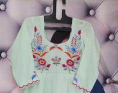 Designer Punjabi Suits, Indian Designer Wear, Beautiful Suit, Beautiful Dolls, Embroidery Suits Design, Machine Embroidery Designs, Bargello Needlepoint, Punjabi Fashion, Food Goals