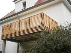 """Railing wood # railing # wood 21 Balcony Decorating Ideas and Examples More Romantic Than """"Romeo and Juliet"""" If you're looking for balcony decorating . Wood Deck Railing, Balcony Railing Design, Small Balcony Design, Deck Design, Horizontal Deck Railing, Balcon Grill, Balustrade Balcon, Modern Deck, Balkon Design"""