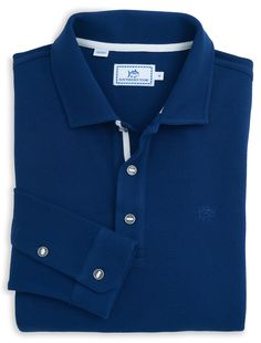 Long Sleeve Outdoor Polo | Southern Tide