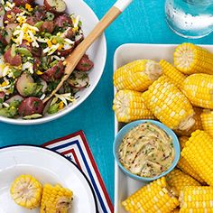 Corn On The Cob With Honey-lime Butter