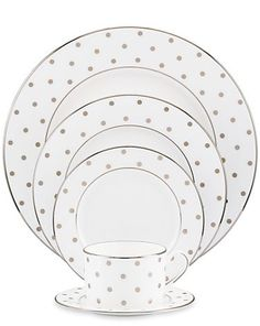 Dot Dinnerware by kate spade