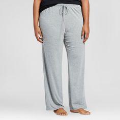 Women's Plus Size Sleep Pants - Fifties Pink 3X