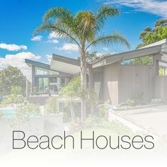 This elevated, steeply sloping property offered a north-easterly orientation with extensive sea views. Architecture Design, Environment, Beach Houses, Explore, Mansions, Landscape, Country, House Styles, Projects