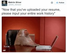 And your LinkedIn profile, and a link to your portfolio, and type a new cover letter, and...