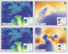 Calculo de la precipitación anual acumulada Qgis  Giovanni NASA