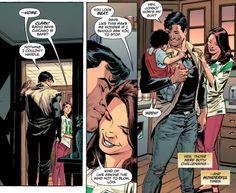 """why-i-love-comics:  Superman: Lois & Clark #2 - """"Arrival II"""" (2015) written by Dan Jurgensart by Lee Weeks, Scott Hanna, & Brad Anderson"""