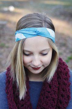 Batik Twist Headband