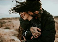 Couple session in the desert - Spain - The Quirky photographer Qoutes About Love For Him, Facebook Dp, Cover Pics, Couples In Love, Couple Tattoos, Hd Images, Stylish Girl, High Quality Images, Girl Pictures