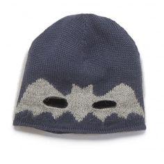 Oeuf NYC - Bonnet Bat Boy Gris Oeuf NYC - Mode bébé, futures mamans, cadeaux de naissance