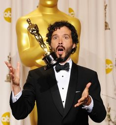 I love that Bret Mckenzie won an oscar for The Muppets movie!