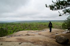 One of the most popular hikes, the Lookout trail has a beautiful, panoramic view overlooking the park. Nature Adventure, Adventure Travel, Adventure Awaits, Park Trails, Hiking Trails, Ontario Provincial Parks, Travel Around The World, Around The Worlds, Ontario Travel