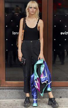 Fashion Week Street Style SS18 London