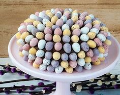 Take a simple chocolate cake with chocolate buttercream and have a go at Ren Behan's encrusted Mini egg showstopper cake.