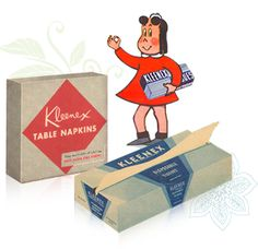 Kleenex® Brand Tissue History1924,-- facial tissues as they are known today were first introduced by Kimberly-Clark as Kleenex   https://en.wikipedia.org/wiki/Kleenex