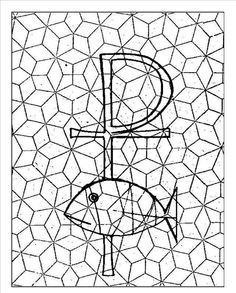 Mosaik malvorlagen - Mosaik - bibel mosaik - Spielemitderbibel