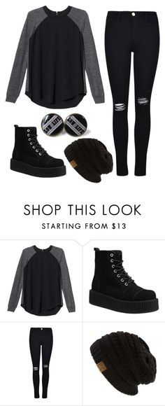 """""""Morning People"""" by coffeeismysoul ❤ liked on Polyvore featuring Rebecca Taylor and Frame Denim"""