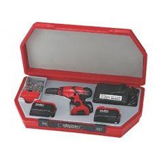 AKU vŕtačka 14,4V, 2x Li-ion, sada vrtákov, kufor, Teng Tools Hand Tools, Drill, Electric, Hole Punch, Drills, Drill Press