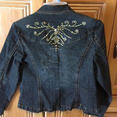 Bling bling denim jacket Beautiful jean jacket Jackets & Coats Jean Jackets