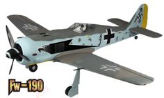 : name:Focke-Wulf FW 190 Large EPO Remote Control Airplane How To Paint Camo, Camo Paint, Focke Wulf Fw 190, Hobby Shop, Us History, Paint Schemes, Military Aircraft, Ww2, Airplane