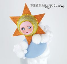 Quirky Doll face sun hat