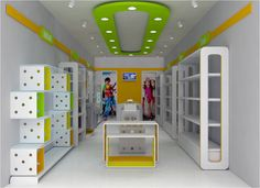 Clothing Boutique Interior, Clothing Store Design, Pharmacy Design, Retail Design, Kids Store, Baby Store, Candy Store Design, Beauty Salon Design, Retail Concepts