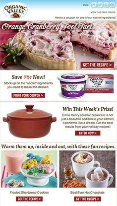 Here's a coupon from Organic Valley!