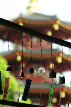 風鈴 Japanese wind chimes