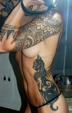 egyptian cat tattoo | Egyptian Cats