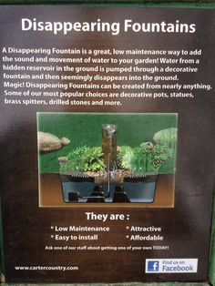 Disappearing Fountains are very popular for all the right reasons! Decorative Fountains, All The Right Reasons, Popular, Popular Pins, Most Popular