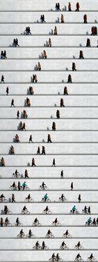 "Saatchi Online Artist: Eka Sharashidze; C-type 2013 Photography ""wall people no. 4 (limited edition 1/6)"""