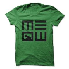 Awesome Tee Meow Shirts & Tees