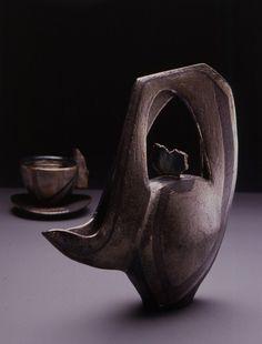 Deconstructed Teaset. 1991 | davidjonesceramics.com
