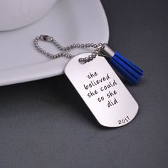 Necklace Key Chain Father Mother Daughter  Dad Mom Daddys Girl Mommys World E99