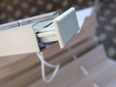 10 quick steps for how to restring pleated RV window shades with photos and tips for fast and easy repair.