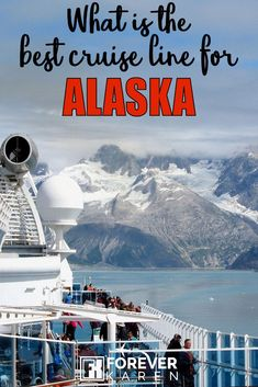 What Is The Best Cruise Line For Alaska? Cruising to Alaska and wanting to know the best cruise line for sailing north? This helpful guide informs you on the amenities you'll want on board, and how to choose a cruise line and ship. Cruise Port, Cruise Travel, Cruise Vacation, Vacations, Best Cruise Lines, Best Cruise Ships, Alaska Cruise Tips, Alaska Travel, Carnival Cruise Alaska