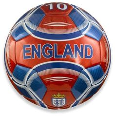 Vizari England Soccer Ball, Red, 4 Vizari
