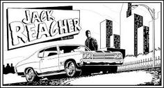 jack reacher comic Comic Art, Comic Books, Jack Reacher, Van Morrison, Someone Like You, Book Authors, Blue Moon, Good Books, Movie Tv