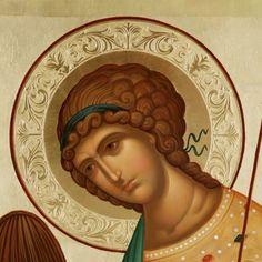 Icons by Malin Dimov – ornament Byzantine Art, Byzantine Icons, Religious Icons, Religious Art, Greek Icons, Religious Paintings, Russian Icons, Biblical Art, Archangel Michael