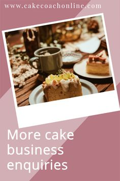 When a cafe owners appears and asks you to bake each and every week for them - you would be naturally flattered. But is a good profitable job for you? Read out blog to find out. And why not save this pin to your own Cake Tips board too?