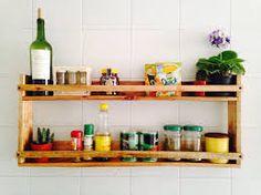 Repisa De Madera Para La Cocina Repisas Pinterest