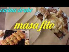 Masa filo casera y garantizada  💯/💯 para principiantes(masa philo) para baklava/cocina árabe - YouTube Phyllo Dough, 15 Minute Meals, Empanadas, Strudel, Few Ingredients, Sweet Bread, Bread Baking, Brunch, Easy Meals