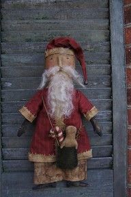 primitive Santa look ... this is just a picture of an idea for your decorating.  no pattern or item for sale that I could find on the website.