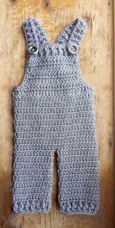 Custom Baby Crochet Overalls - Made To Order - Available In A Variety Of Colors - Great for Photo Prop! on Etsy, $28.00