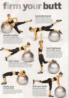 good stability ball workouts
