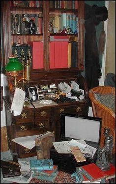 221b Baker Street Desk Area