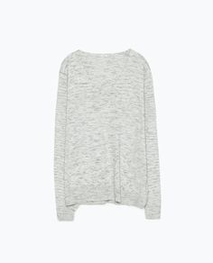 ZARA - WOMAN - WIDE SIDE-SLIT SWEATER Back To Work, Ss 15, Creative Kids, Zara Women, Knitwear, Vest, Sweaters, Collection, Woman