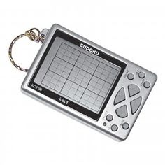 Sudoku KeyChain Puzzle Game clip to your keys and you can take Sudoku with you anywhere! Features 6 levels of challenging gameplay, helpful hints, Hobby Electronics Store, Sudoku, Hobby Shops Near Me, Hobbies For Men, Hobby Toys, Game Sales, Woodworking Skills, Games To Play, Games