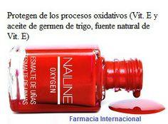 Nailine se vende en farmacias, es económica y además son esmaltes vitaminados que cuidan nuestras uñas gracias a su fórmula con oxígeno a la vez que proporcionan un color brillante y duradero. #Nailine #farmaciainternacional